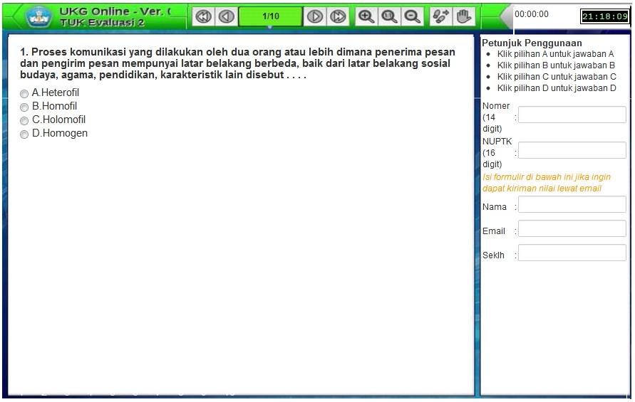 simulasi ukg online menyerupai software asli lihat disini simulasi ukg