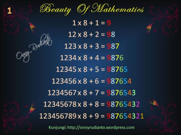 Beauty of math 1