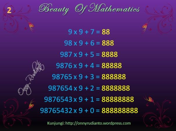 Beauty of math 2