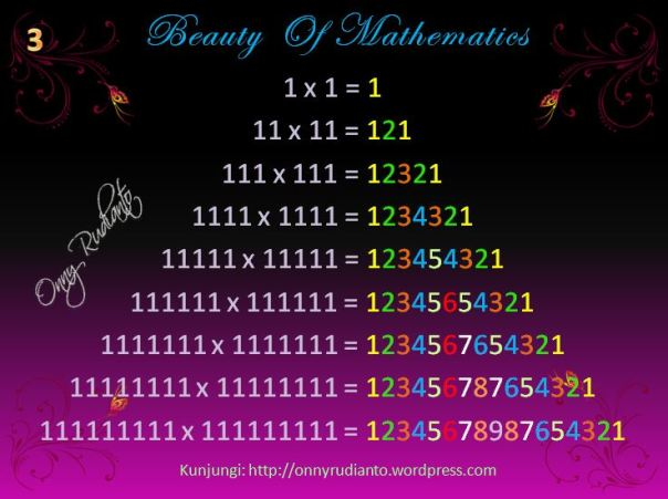 Beauty of math 3
