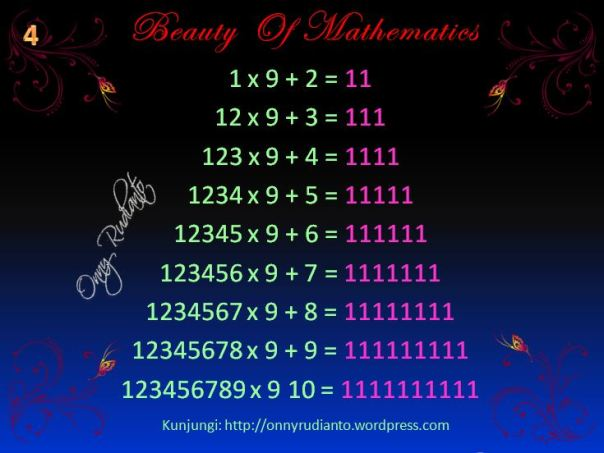 Beauty of math 4
