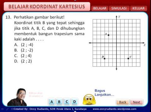 belajar koordinat 3